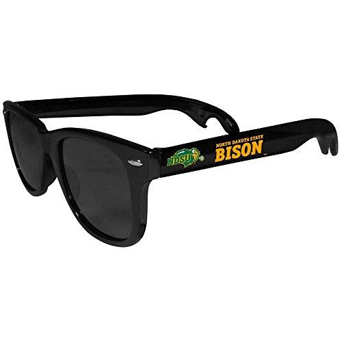 NCAA North Dakota State Bison Beachfarer Bottle Opener Sunglasses, - Sunglasses Dakota