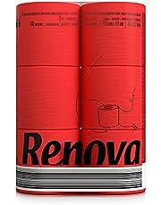 Renova Red Toilet Paper 6 Rolls 0102801010 Regular