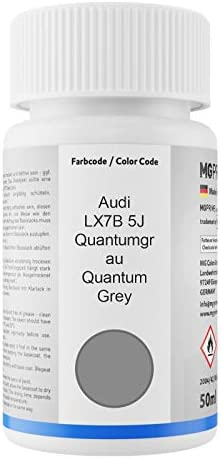Mg Prime Autolack Lackstift Set Für Audi Lx7b 5j Quantumgrau Quantum Grey Basislack Klarlack Je 50ml Auto