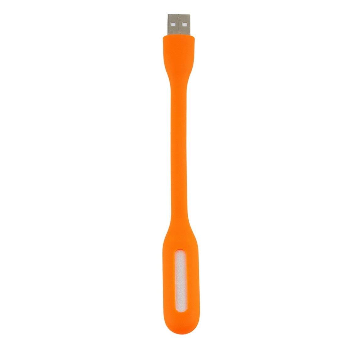FancyswES8eety Mini l/ámpara USB port/átil Flexible de luz LED para computadora port/átil PC port/átil Banco de energ/ía Mini USB Proteger Las Luces de la computadora del Ojo