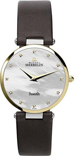 Michel Herbelin 17343/T89BR, Women's Watch