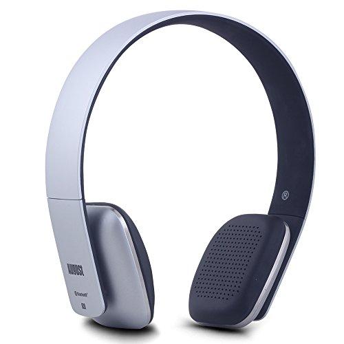 Headphones Headphones Silver (Wireless Headphones - Cordless Bluetooth Headset with Microphone,Silver)