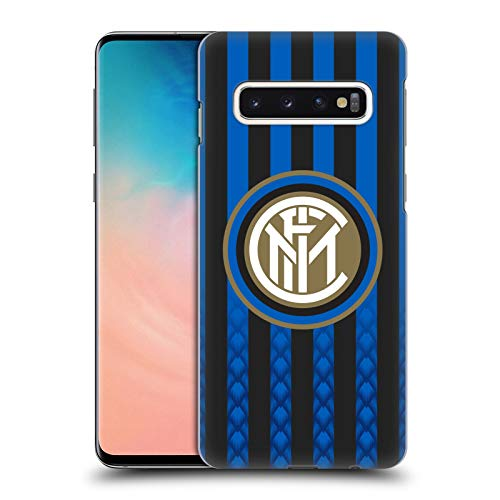 - Official Inter Milan Home 2018/19 Crest Kit Hard Back Case for Samsung Galaxy S10