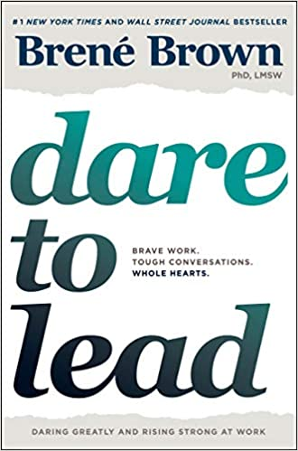 Dare to Lead by Brene Brown - book cover