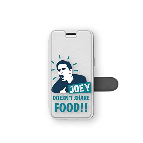 ZVStore Friends Show Joey Doesn't Share Food iPhone Wallet Case Protective Shell Joey Motto TV Series Classic Soft PU Fold Screen Cover Case for (iPhone 5C)