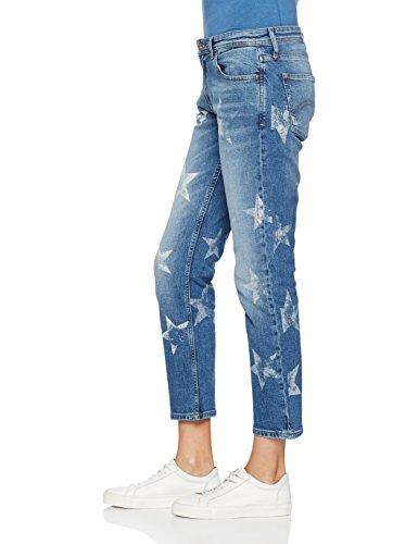 Jeans Donna Print Lana Cropped Straight Denim Stpt Hilfiger star Blu ZxXqa1gx