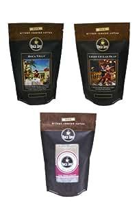 Boca Java Roast to Order, Dark Roast Variety Pack, Whole Bean, 8 oz. bags (Pack of 3)