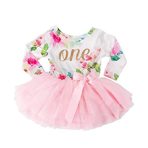 Grace /& Lucille 1st Birthday Dress Long Sleeve
