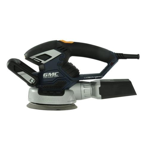 Dual-Base Random Orbit Sander 230V 5//6 GMC ROS150CF 430W 125//150mm
