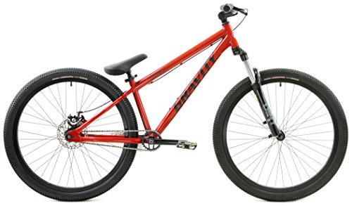 Gravity CoJones Expert Dirt Jump 26 Inch Wheel DJ Suspension Fork Disc Brake (Burnt Orange)