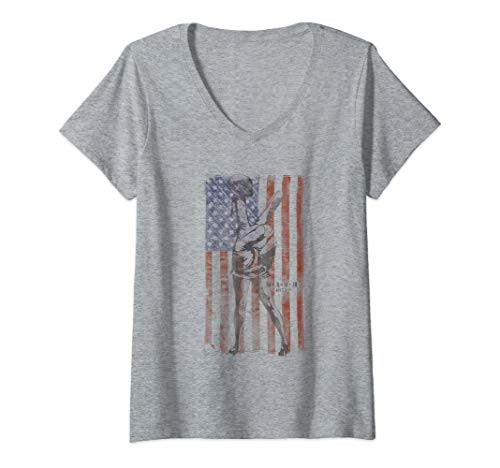 Womens MASH Hang 'em High V-Neck T-Shirt
