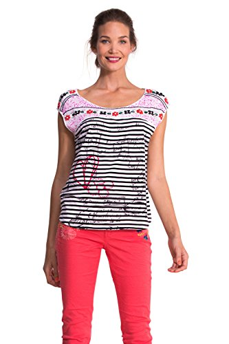 Desigual Femme Shirt Algodon Nouvelle Collection