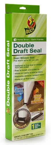 - Duck Brand Double Draft Seal Set for Doors and Windows, 1-Pack, 284429