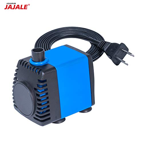 JAJALE 210 GPH Submersible Water Pump Ultra Quiet for Pond,Aquarium,Fish Tank,Fountain,Hydroponics (200 Gph Submersible Pump)