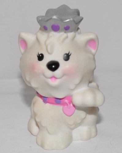 2008 Kittys - Little People Princess Kitten Kitty Cat 2008 - Replacement Figure - Classic Fisher Price Collectible Figures - Zoo Circus Ark Pet Castle
