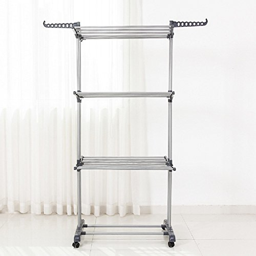 HYibiao Drying Racks New Clothes Hanger Dryer Laundry Indoor