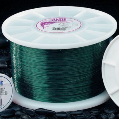 Ande A14-12G Premium Monofilament Fishing Line, 1/4-Pound Spool, 12-Pound Test, Green Finish by ANDE