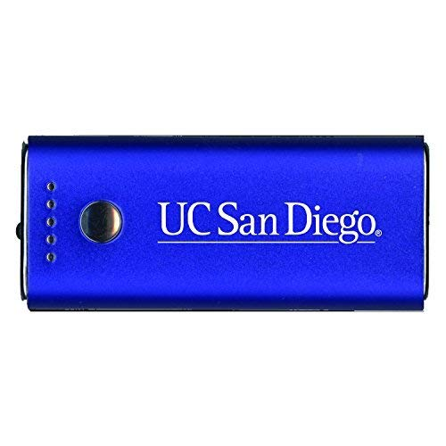 - LXG, Inc. University of California, San Diego-Portable Cell Phone 5200 mAh Power Bank Charger -Blue