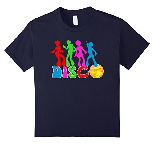 Kids Disco Dabbing 80' 90' Lover Hipster Retro Vintage Dance Cool 12 Navy