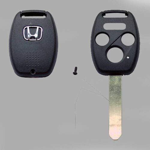 (Dan Pratt New Remote Key Fob Shell Pad Case for 2006-2013 Honda Without chip Holder)