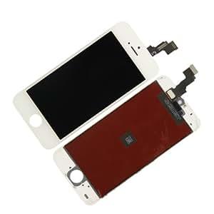 SKILIWAH® Pantalla táctil LCD + digitalizador con sustituir para Apple iPhone5C Piece blanco