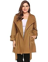 fa0f3fac624 Women Plus Size Lightweight Raincoat Cycling Hiking Portable Anorak  Waterproof Coat