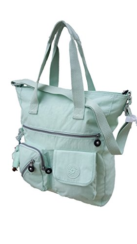 Kipling Johanna Tote Bag (One Size, Greenery (310)) by Kipling