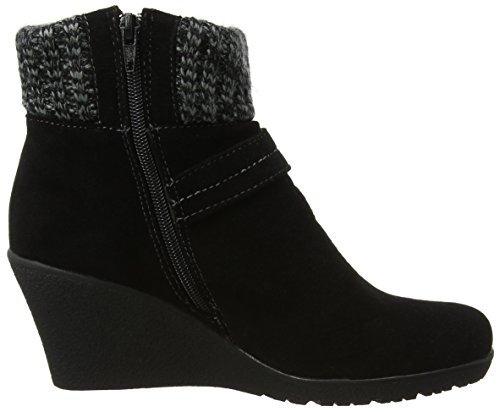 Boots Donna Cute And Stivali Joe Browns Cosy A Nero black Wedge TS7cgq