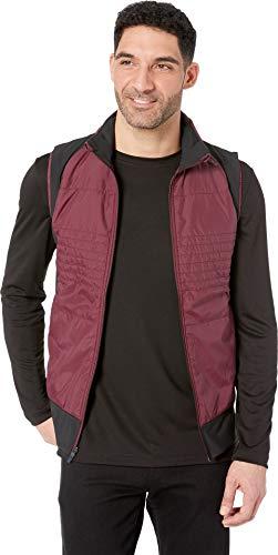 (Brooks Men's Cascadia Thermal Vest Raisin/Black XX-Large)