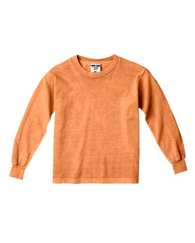 Comfort Colors By Chouinard Youth Long Sleeve Tee (Melon)