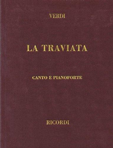 La Traviata: Vocal Score (Italian Edition) (Tapa Dura)