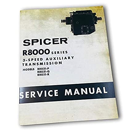 Dana Corp R8000 3 Speed Spicer Transmission