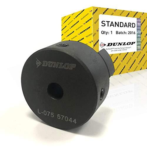 Dunlop L190B Kupplungsflansch, Pilotbohrung, Typ 2, M12, 19 mm Vorbohrung, 133 mm montierte Länge, 102,0 mm Nabendurchmesser, 115,0 mm Durchmesser