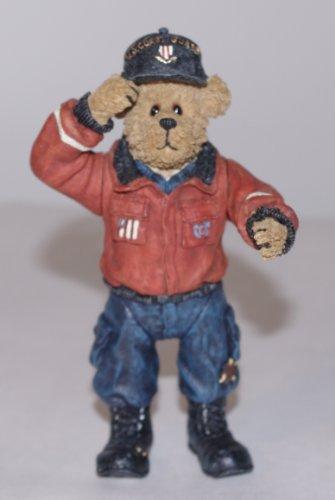 Boyds Bears Shoe Box - Coast Guard Seaman Bearsdale 4.5