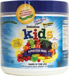 Greens World Inc. Delicious Kids Super Food Drink