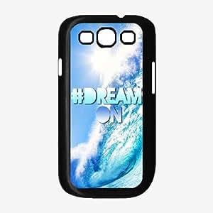 Hashtag #Dream On Plastic Phone Case Back Cover Samsung Galaxy S3 I9300