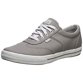 Keds Women's Courty Core Sneaker, Grey, 6.5