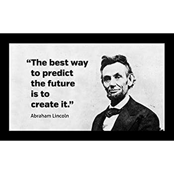 Amazoncom 12x18 Poster Famous Quote Abraham Lincoln Famous Quote