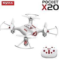 Simply Silver - RC Quadcopter - Syma X20 Pocket Drone 2.4G 4CH RC Quadcopter Headless Mode Altitude Hold