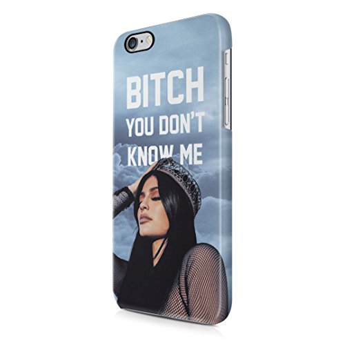 Kylie Jenner You Dont Know Me iPhone 6, 6s Hard Plastic Case Cover