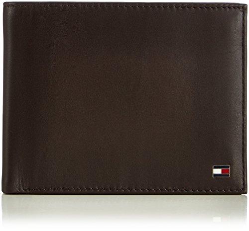 brown Portemonnaies Marron Hilfiger 204 Braun Trifold Tommy Eton nwqg6PCH