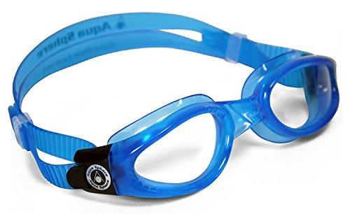 Aqua Sphere KAIMAN Goggle Small Frame Clear Lens Blue