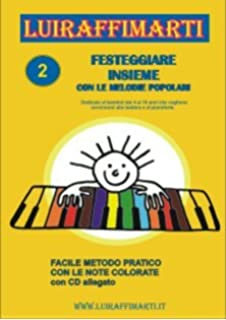 Amazonit Spartiti Per Bambini Con Le Note Colorate Per Pianoforte