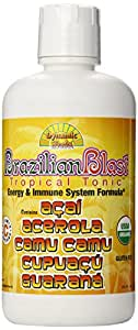 Dynamic Health Brazilian Blast, Tropical Tonic Organic Certified, 32-Ounce