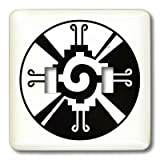 3dRose LLC lsp_101008_2 Hunab Ku Indian Mexican Symbol Double Toggle Switch