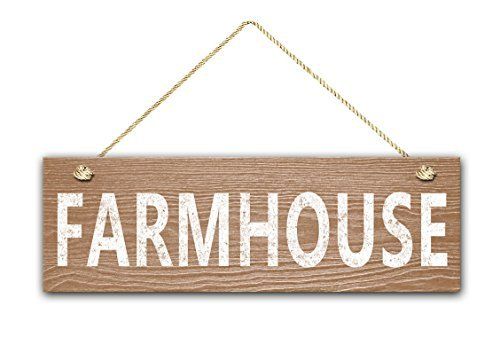 Farmhouse Sign, 5.5 & quotx17 & quot Letrero De Madera ...
