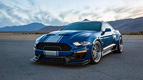 (Shelby Super Snake Wide Body Car Poster Print (24x36)