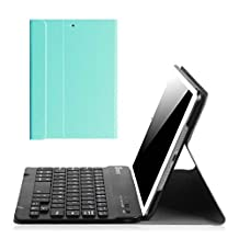 Fintie iPad mini 1/2/3 Keyboard Case - Blade X1 Ultra Slim Shell Lightweight Cover with Magnetically Detachable Wireless Bluetooth Keyboard for iPad mini 3 / iPad mini 2 / iPad mini 1, Blue