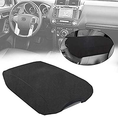 AVOMAR Black Center Console Armrest Fleece Cover Center Armrest Protector Cover Fits Toyota 4Runner 2010-2020: Automotive