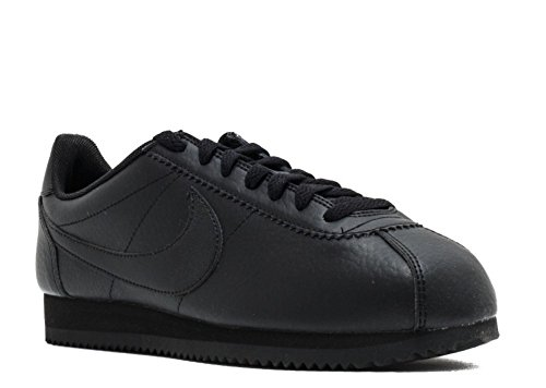 Nike Womens Classic Cortez STR LTR Running Trainers 884922 Sneakers Shoes (7) Black